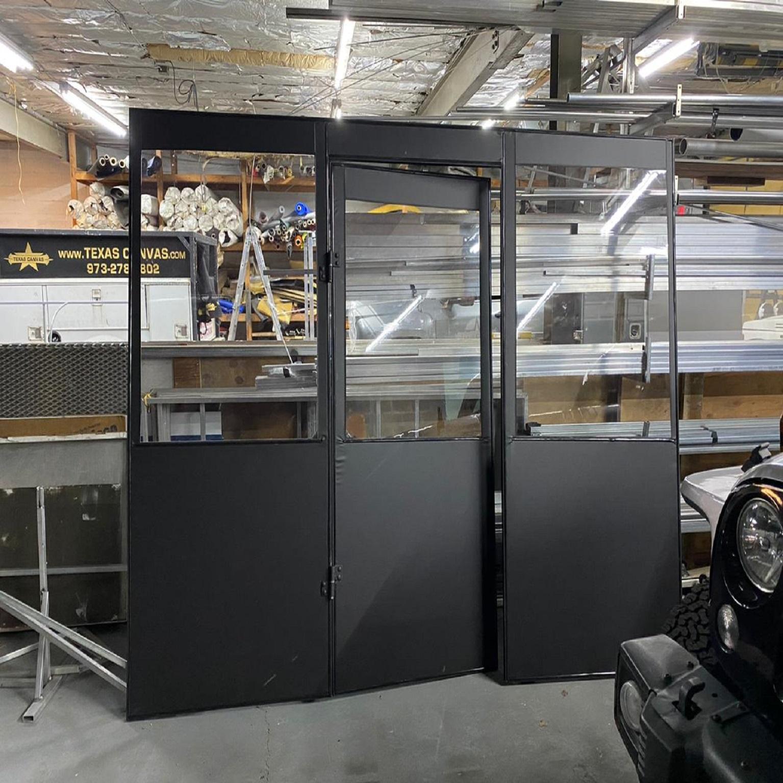 enclosure system for restaurant 2
